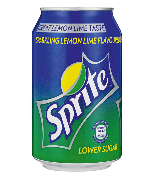 Sprite 330mL Can, 12 Pack