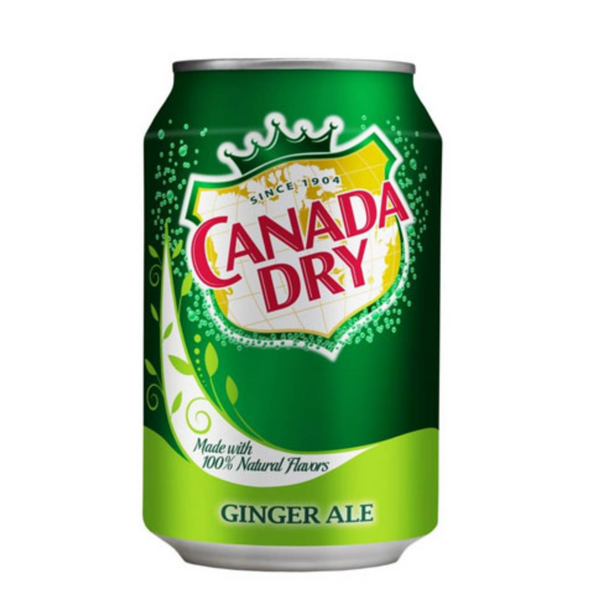 Canada Dry Gingerale 355mL Can, 12 Pack
