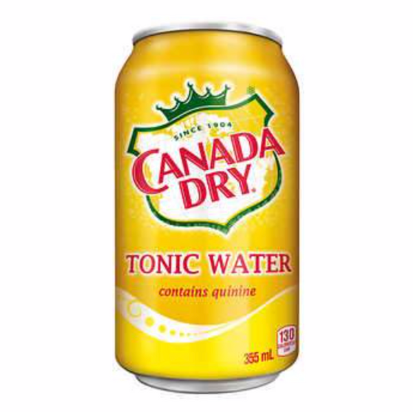 Canada Dry Tonic 330mL Can, 12 Pack