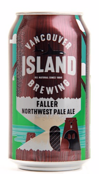 Vancouver Island Brewing, Faller Northwest Pale Ale, 355mL Can, Each*