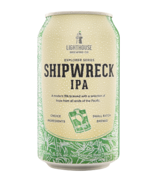 Lighthouse Brewing Co., Shipwreck IPA, 355mL Can, Each*