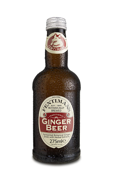 Fentimans Ginger Beer, 275mL Bottles, 4 Pack