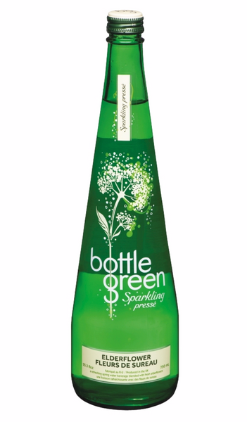 Bottle Green Sparkling Elderflower, 750mL Bottle, Each
