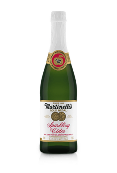 Martinelli's Sparkling Cider, Non-Alcoholic, 750mL Bottle, Each
