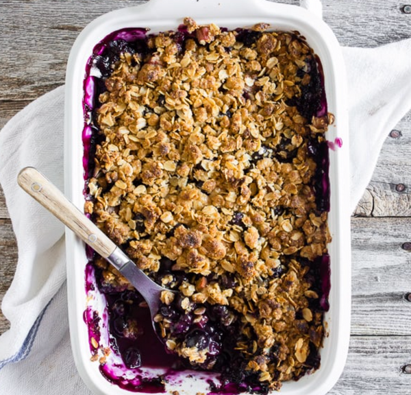 Mixed Berry Crumble, Ready-to-Bake, Serves 2 to 4