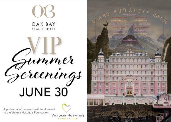 VIP Summer Screenings | June 30: The Grand Budapest Hotel
