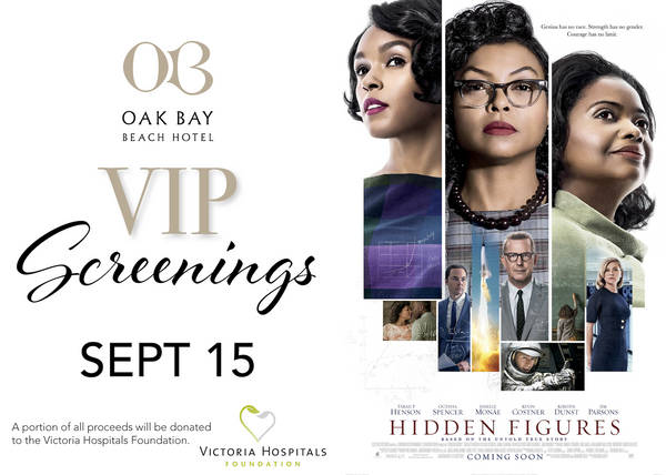 VIP Screenings | September 15: Hidden Figures