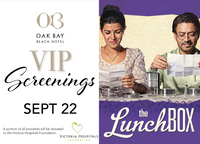 VIP Screenings | September 22: The Lunchbox