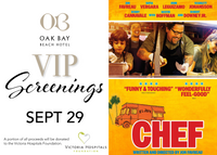 VIP Screenings | September 29: Chef