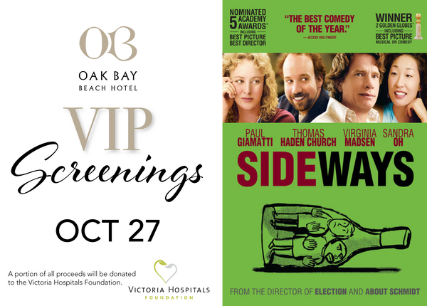 VIP Screenings | October 27: Sideways