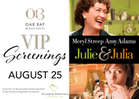 VIP Summer Screenings | August 25: Julie & Julia