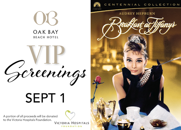 VIP Screenings | September 1: Breakfast at Tiffany's