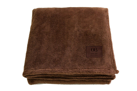 Oak Bay Beach Blankets – Chocolate