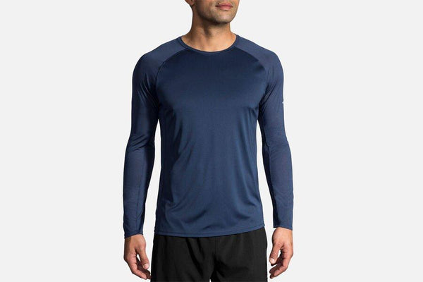 Brooks Stealth Long Sleeve - Navy