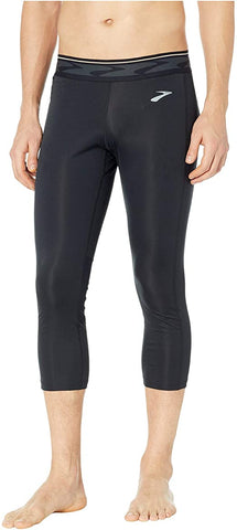 Brooks All-in 3/4 Tights- Black