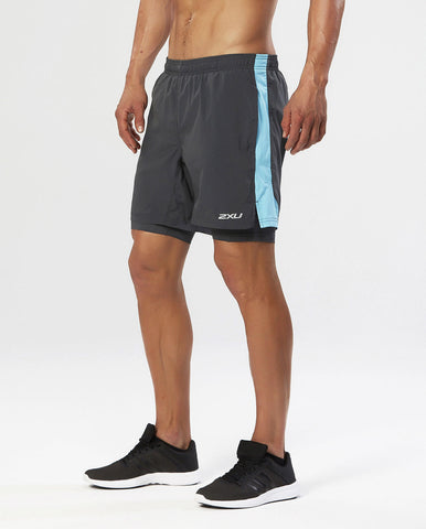 "2XU PACE 7"" 2 in 1 Short Men's"