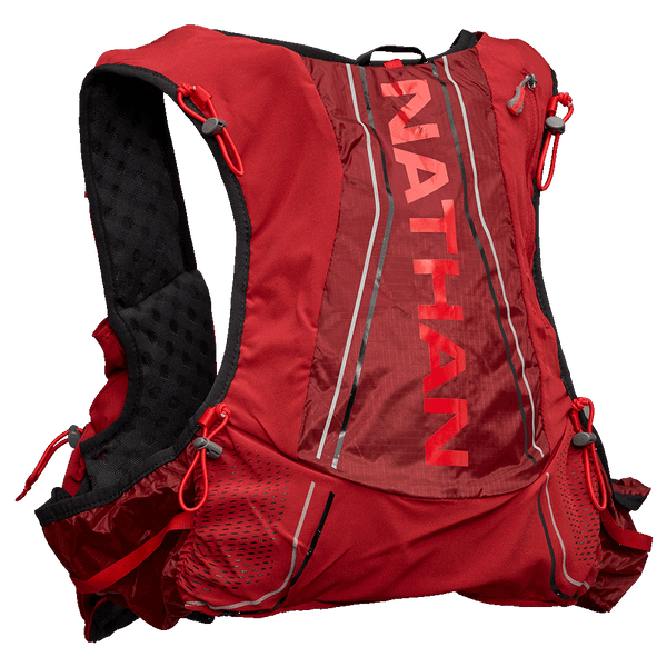 Nathan Vapor Air Race Vest 7L - Red Dhalia & Black