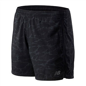 New Balance Accelerate 5 Inch Short - printed