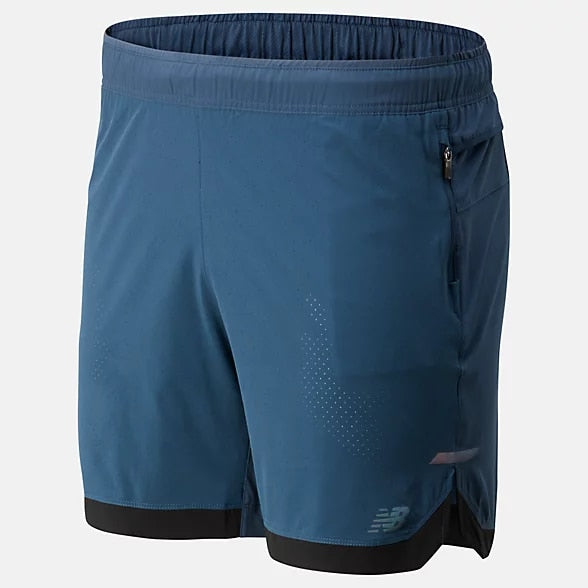 New Balance Q Speed Run Crew Short