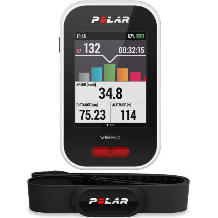 Polar V650 GPS Cycle Computer (With/Without Heart Rate Sensor)