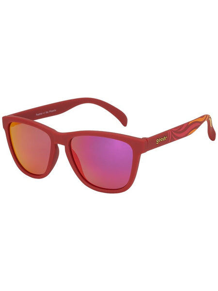Goodr Sunglasses - Feather O' The Phoenix