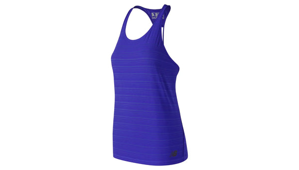 New Balance Q Speed Breathe Striped Tank Women's