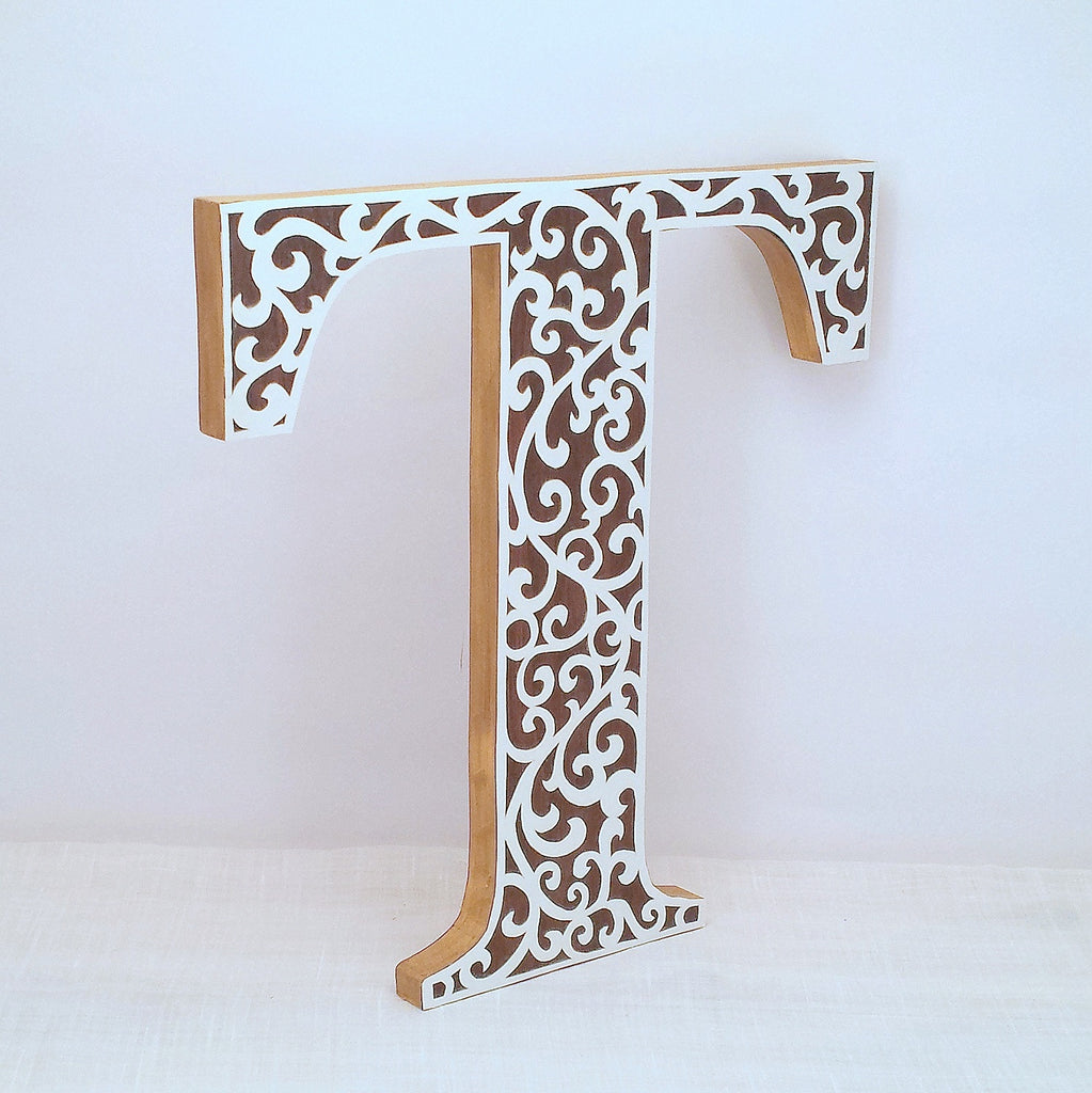 Letter t wall decor images home wall decoration ideas letter t flourish art decor wall letter annie blue home decor letter t wood letter wall amipublicfo Image collections
