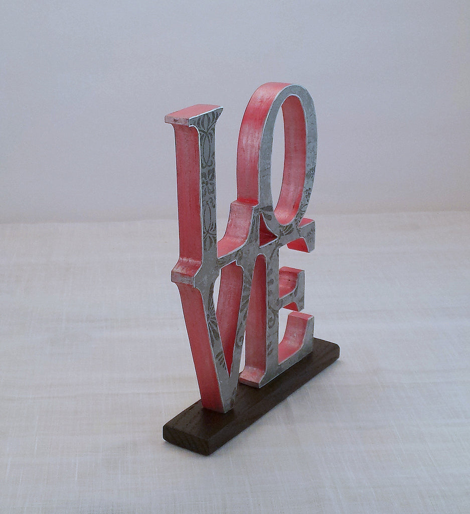 love sign wood word sign annie blue home decor