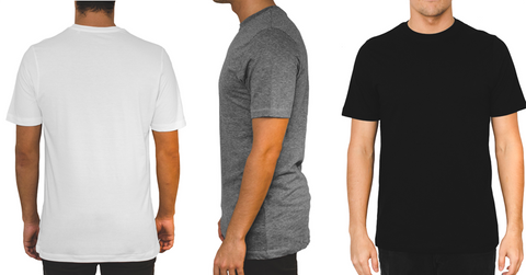 6 stk. Basic t-shirts
