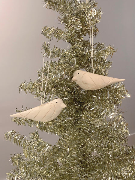 Dove Ornaments