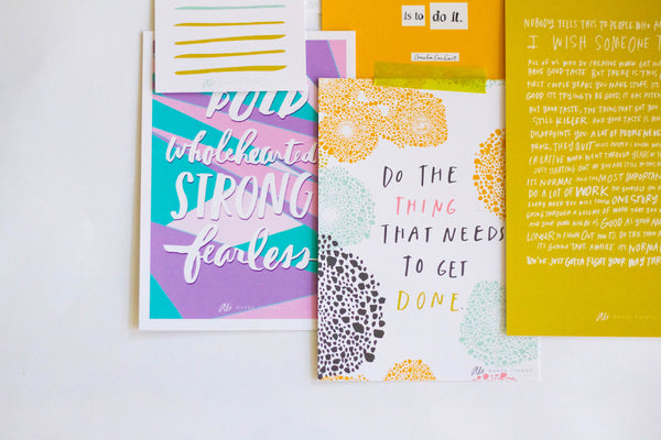 * YOU GOT THIS *  - Print Collection