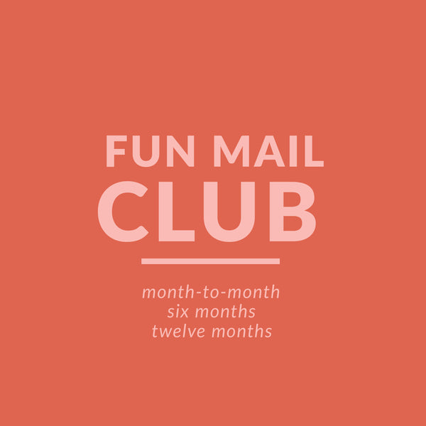**FUN MAIL CLUB**