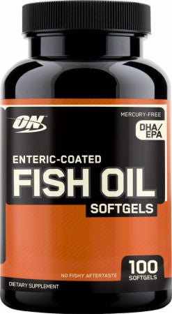 OPTIMUM NUTRITION FISH OIL ENTERIC - Fitness Quest Nutrition