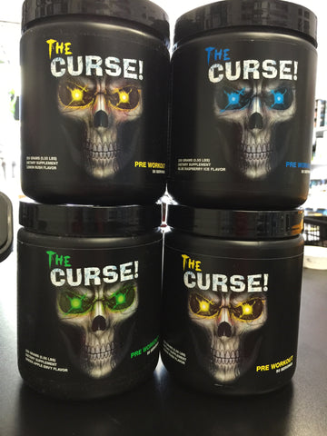 THE CURSE PRE WORKOUT - Fitness Quest Nutrition