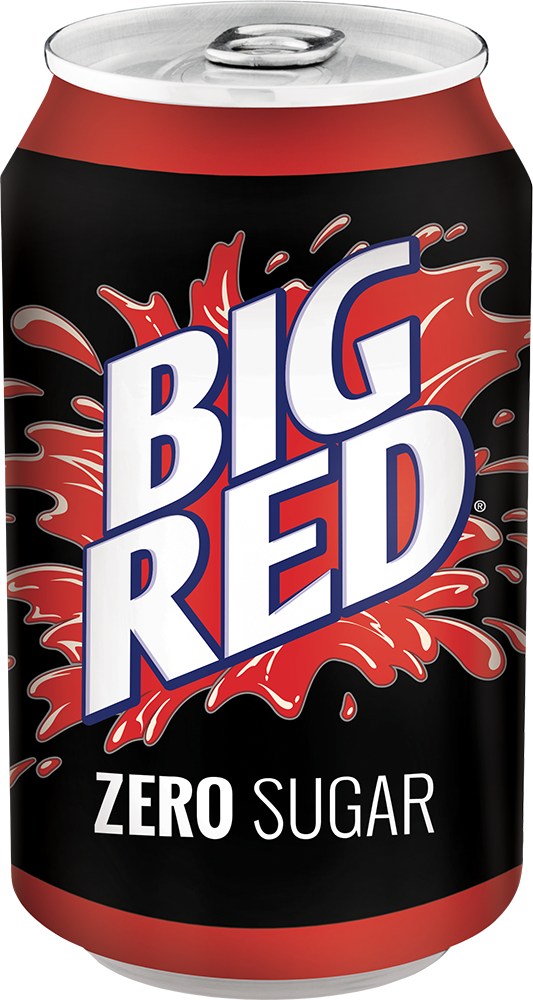 Big Red Zero | 12oz 24 Pack