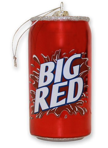 Big Red Can Ornament