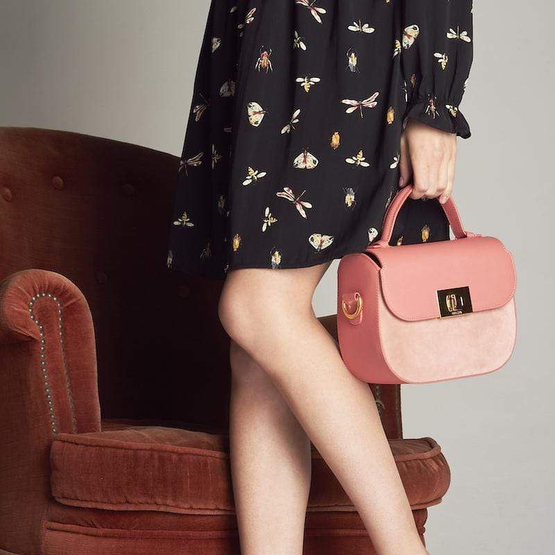 Lola & Lo HANDBAGS ERIN FLAMINGO