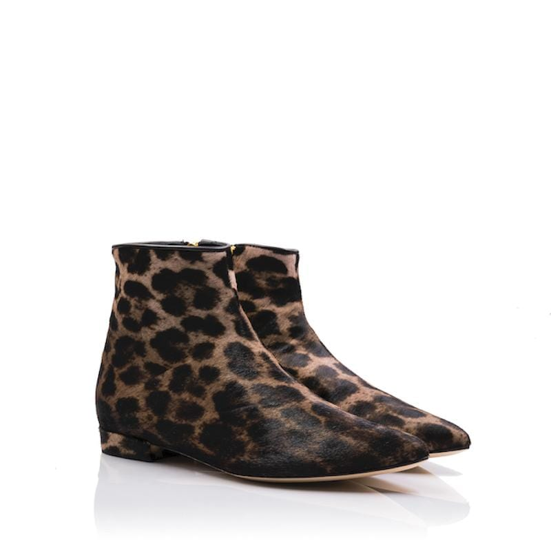 lolaandlo booties Alexandra Animal Print