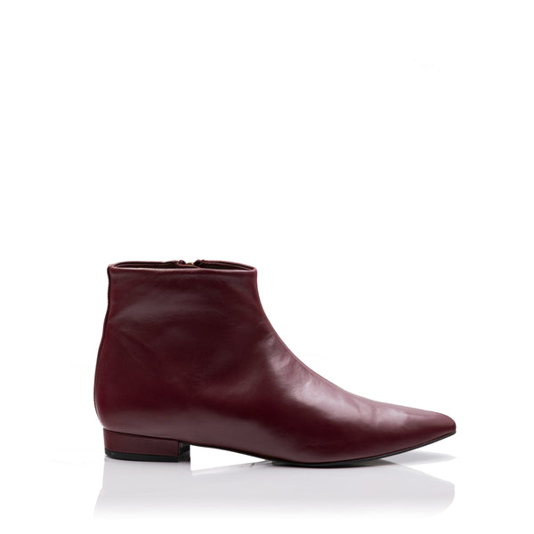 lolaandlo booties LOLA BORDEAUX