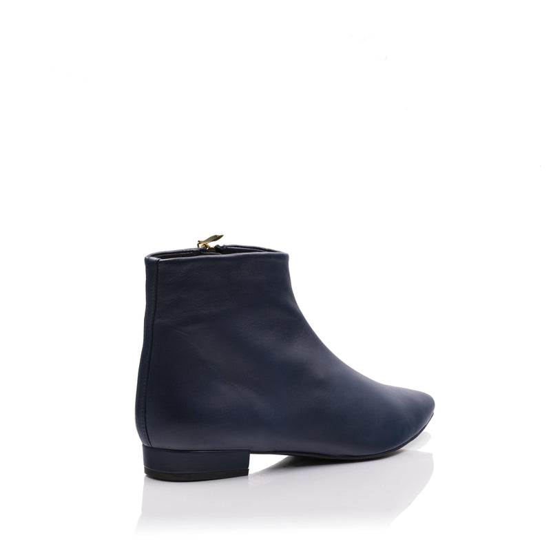 lolaandlo booties LOLA NAVY BLUE