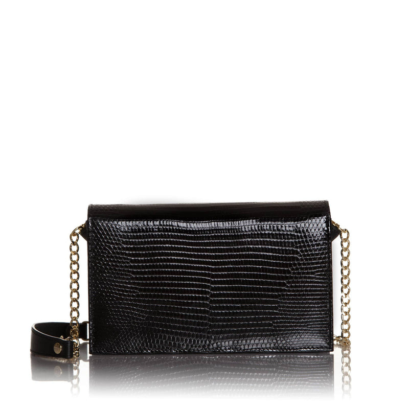 lolaandlo clutch KIRA BLACK