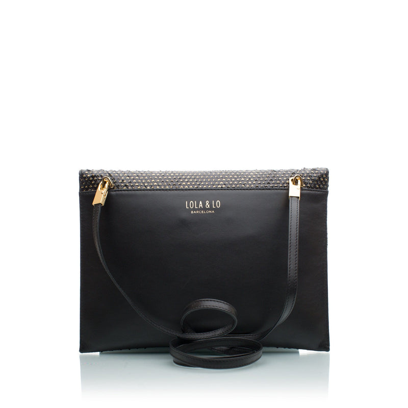 lolaandlo clutch LUCY GOLDEN HEARTS