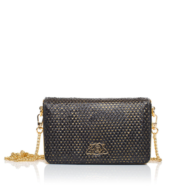 lolaandlo clutch TAMARA GOLD HEARTS