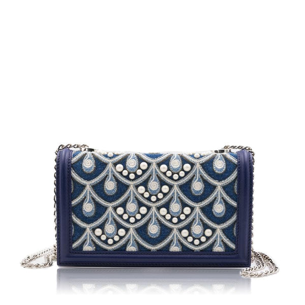 lolaandlo clutch TANIA EMBROIDERED