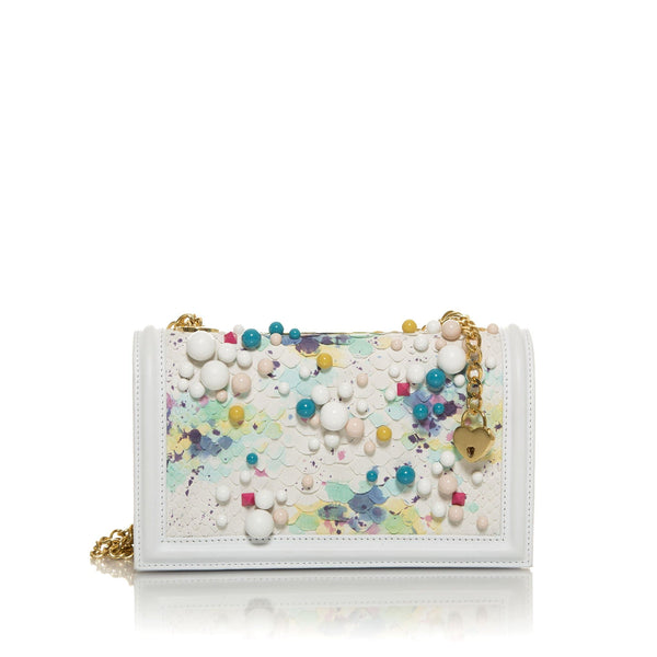 lolaandlo clutch TANIA MULTICOLORED