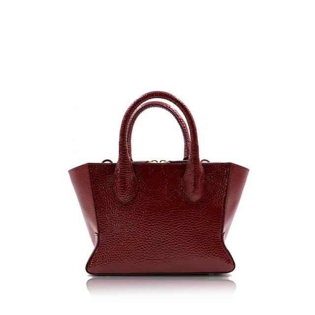 lolaandlo handbag BLANCA MINI GLOSS CHERRY