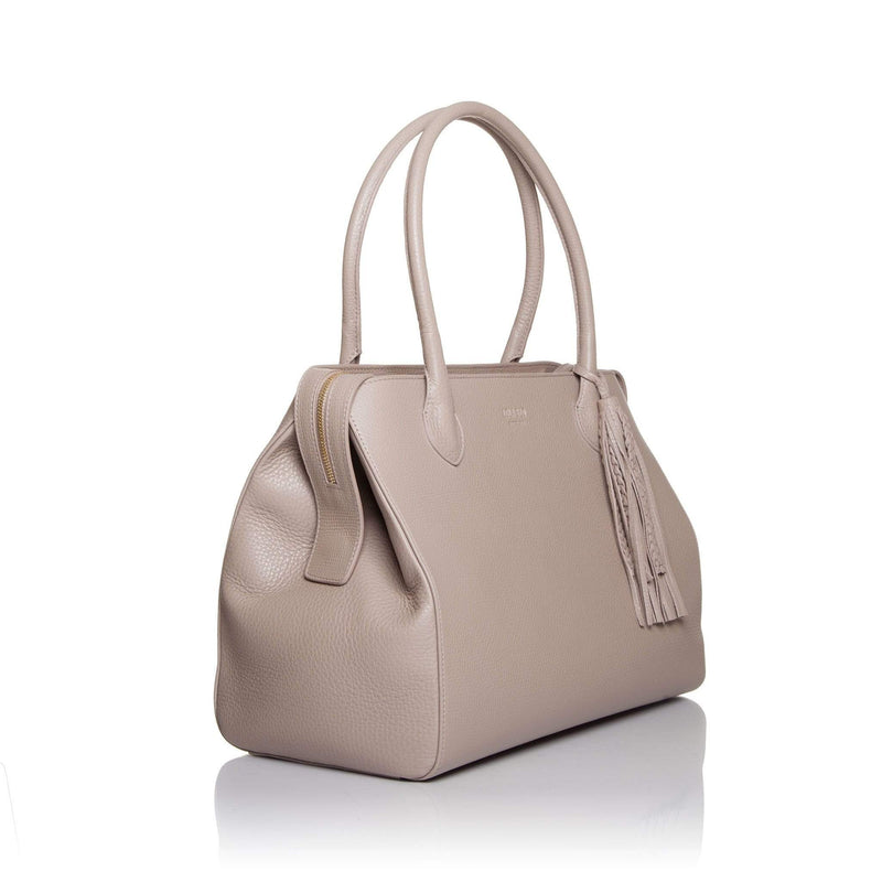 lolaandlo handbags MAGDALEIN TAUPE WITHOUT ZIPPER CLOSURE