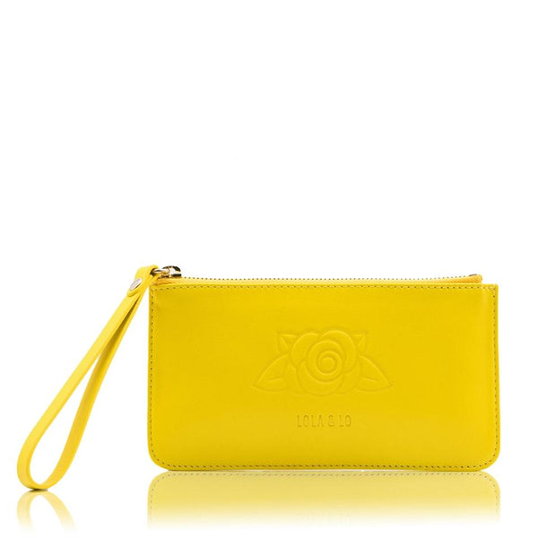 lolaandlo purse LOLA YELLOW