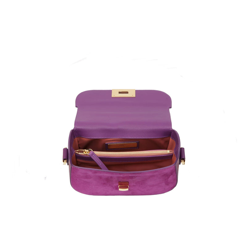 lolaandlo shoulder bag ERIN ROYAL PURPLE
