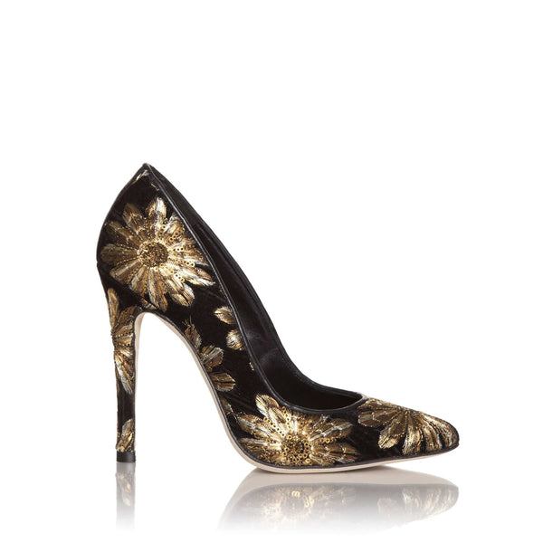 lolaandlo stilettos MAUREEN GOLD 100